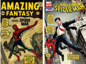 Amazing Fantasy #15 / Amazing Spider-Man #573