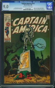 Captain America #113: Classic Cover