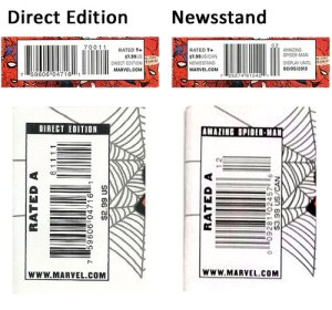 Direct Edition Vs. Newsstand Comics