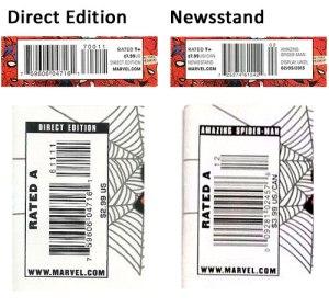 Direct Edition Vs. Newsstand Comics