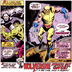 Incredible Hulk #180: Wolverine!