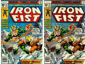 Iron Fist #14 35 Cent Variant