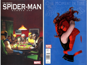 Paolo Rivera Spider-Man Painted Covers