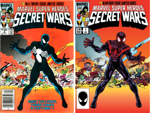 Secret Wars #8 -- Cover Swipe Secret Wars #1 HeroesCon Variant