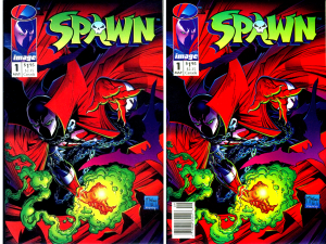 Spawn #1 Newsstand Edition