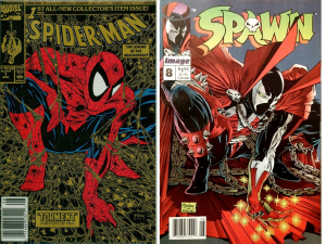 Spider-Man #1 (Torment) Modern Classic Cover / Spawn #8 Cover Swipe