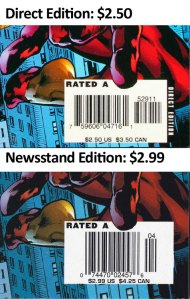 Newsstand copies of Amazing Spider-Man #529 are a cover price variant.