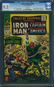 Tales Of Suspense #80 -- Classic Red Skull Cover