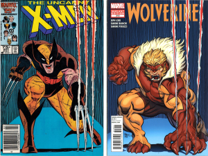 X-Men #207 -- Wolverine #310 (Cover Swipe)