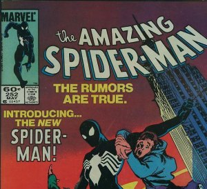 U.S. newsstand edition copy of ASM #252 with 60 cent cover price.