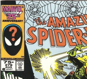Here is a U.S. newsstand edition copy of ASM #279, priced at 75 cents.