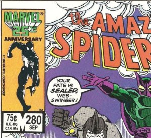 Direct edition copy of ASM #280.