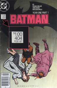 Batman #404 with $1.00 cover price.