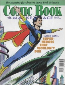 This 1998 publication, Comic Book Marketplace #55, was credited with increasing awareness among collectors about 30 and 35 cent variants.