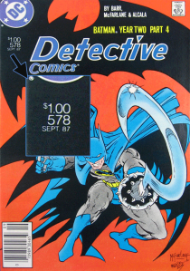 Detective Comics #578 with $1.00 cover price.