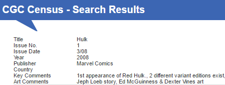 The #1 issue of Hulk (2008) published 3/08 features the 1st appearance of Red Hulk.