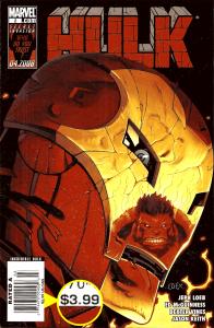 Hulk (2008) #2, $3.99 Newsstand Edition.