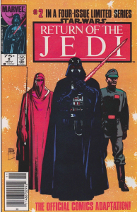 Return of the Jedi #2, 75 cent cover price variant.