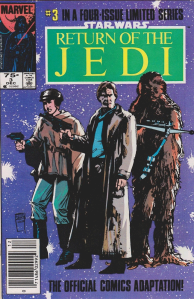 Return of the Jedi #3, 75 cent cover price variant.