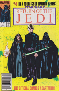Return of the Jedi #4, 75 cent cover price variant.