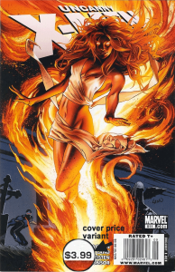 Uncanny X-Men #511, $3.99 Newsstand Edition cover price variant