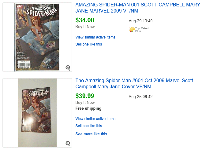 Amazing Spider-Man #601 Recent Sales