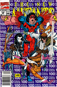 New Mutants #100 (Newsstand)