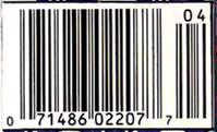 UPC code for New Mutants #100, the final issue.