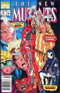 New Mutants #98 (Newsstand)