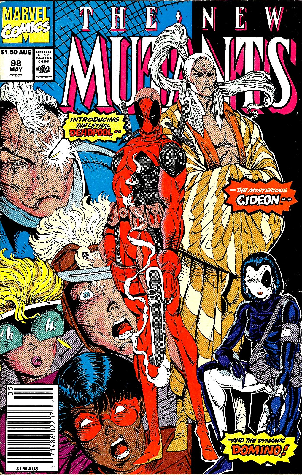 New Mutants #98 with