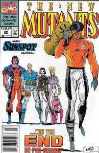 New Mutants #99 (Newsstand)