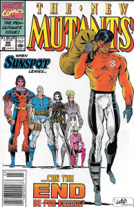 New Mutants #99 (Newsstand)