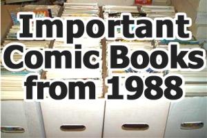 Key comics from 1988