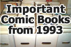 Key comics from 1993