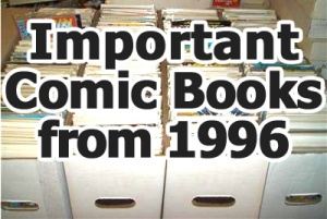 Key comics from 1996