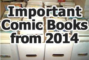 Key comics from 2014
