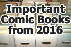 Key comics from 2016