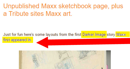 Sam Kieth's blog page states: