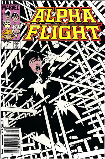 Alpha Flight #3, 75 cent variant.