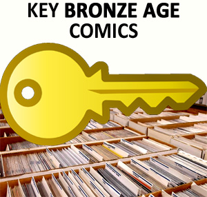 Key bronze age comics.