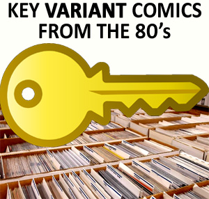 Key comics from the 80's