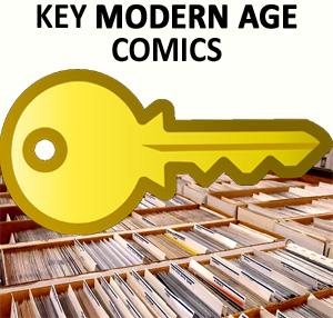 Key modern age comics.