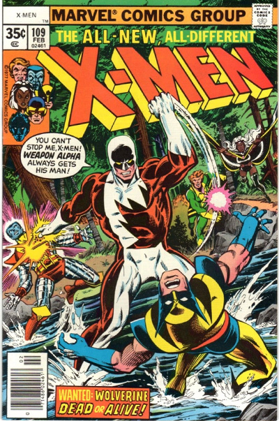 The original cover upon which Alpha Flight #17 was based.