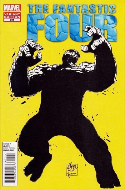 Incredible Hulk #377 cover swipe: Fantastic Four #601.