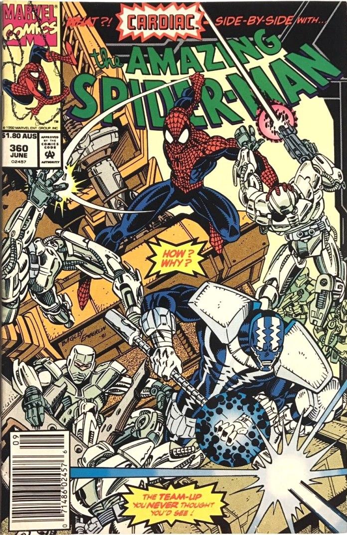 Amazing Spider-Man #360, $1.80 AUS variant