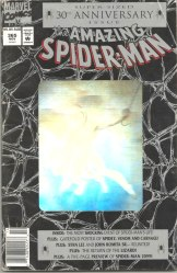 Amazing Spider-Man #365, $5.95 AUS variant