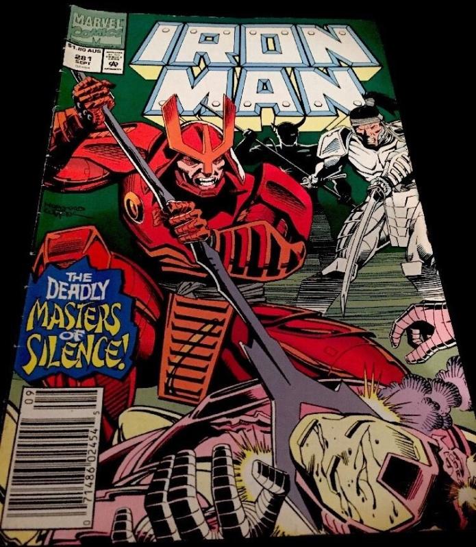 Iron Man #281, $1.80 AUS variant
