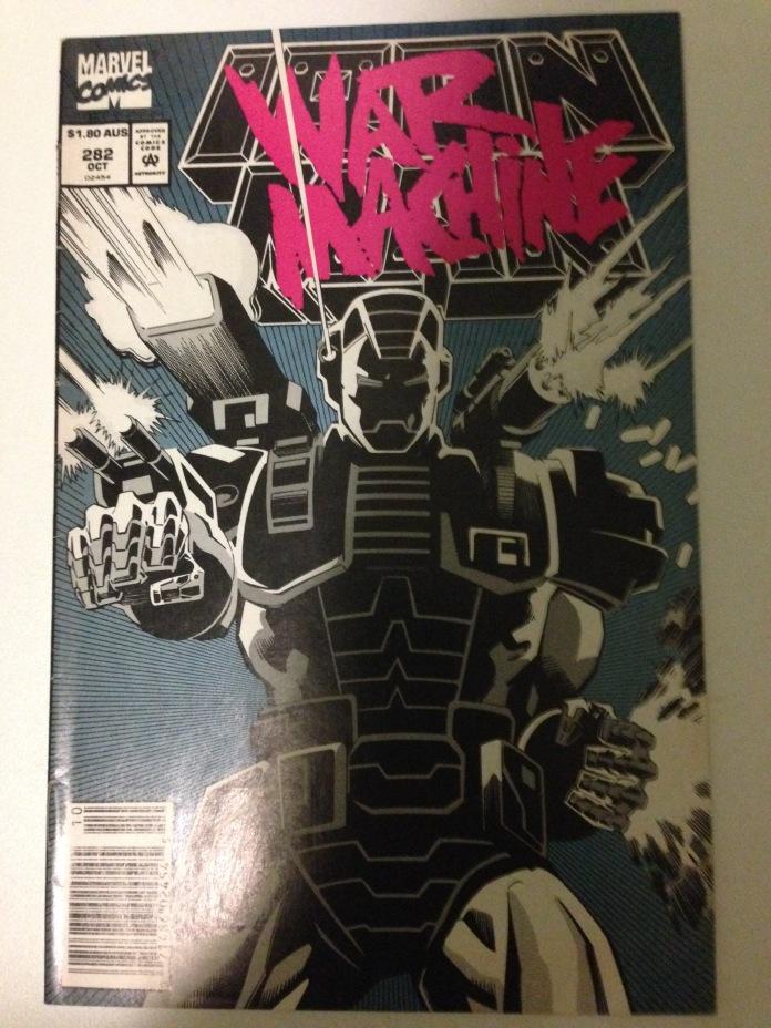 Iron Man #282, $1.80 AUS Variant