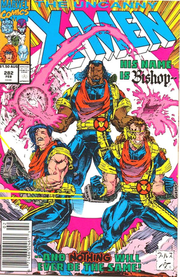 Uncanny X-Men #282, $1.50 AUS variant