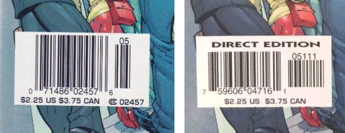 Amazing Spider-Man #492, Newsstand vs Direct Edition